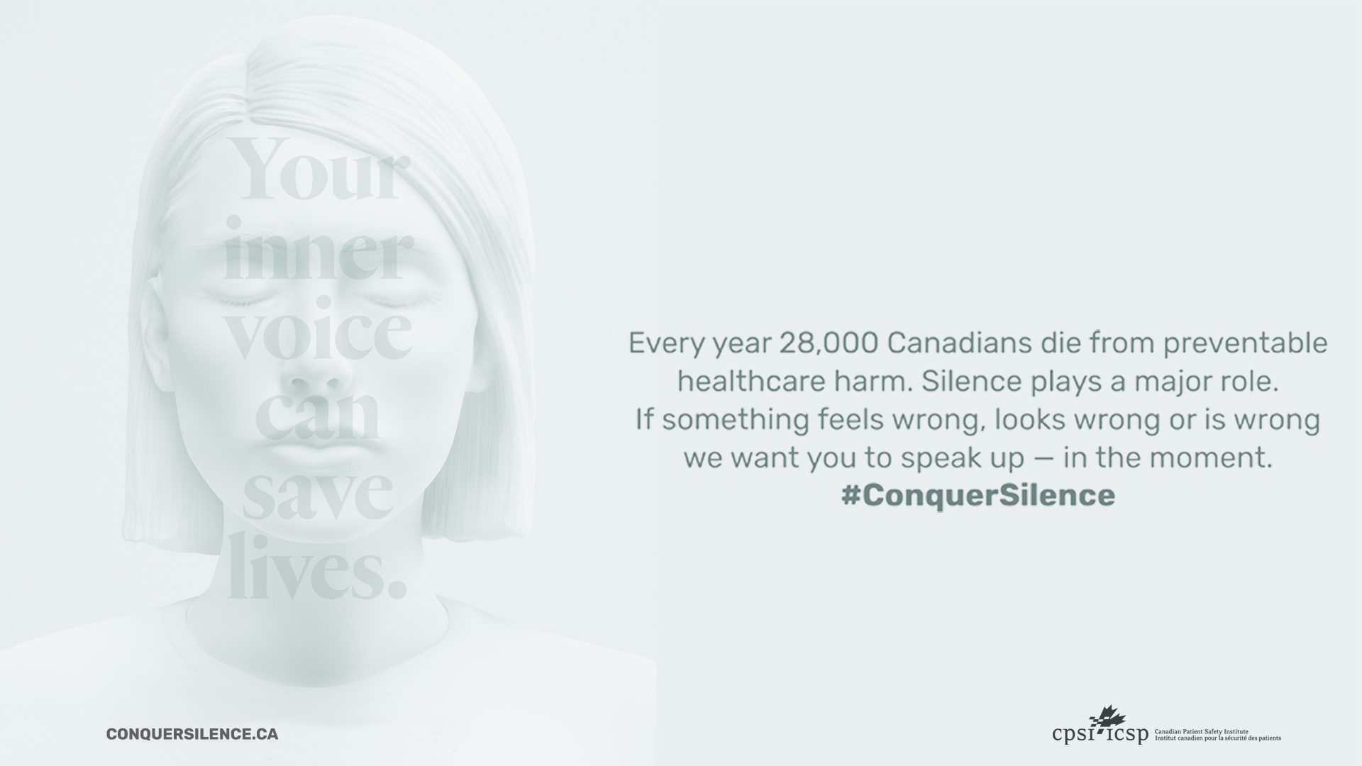 Conquer Silence tv screen image