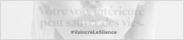Conquer Silence Web Banner - French
