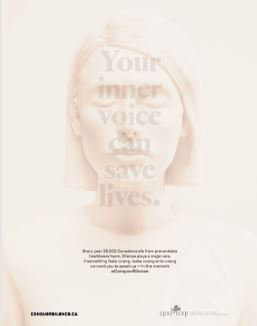 Your inner voice can save lives