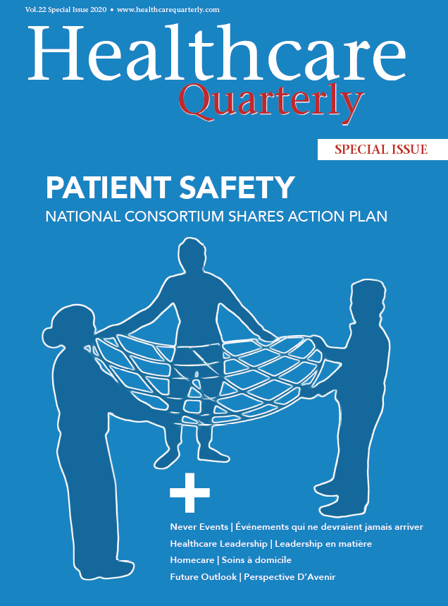 A special issue of Healthcare Quarterly assembles conclusions of CPSI's National Patient Safety Consortium