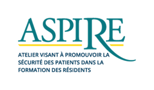 ASPIRE logo in French