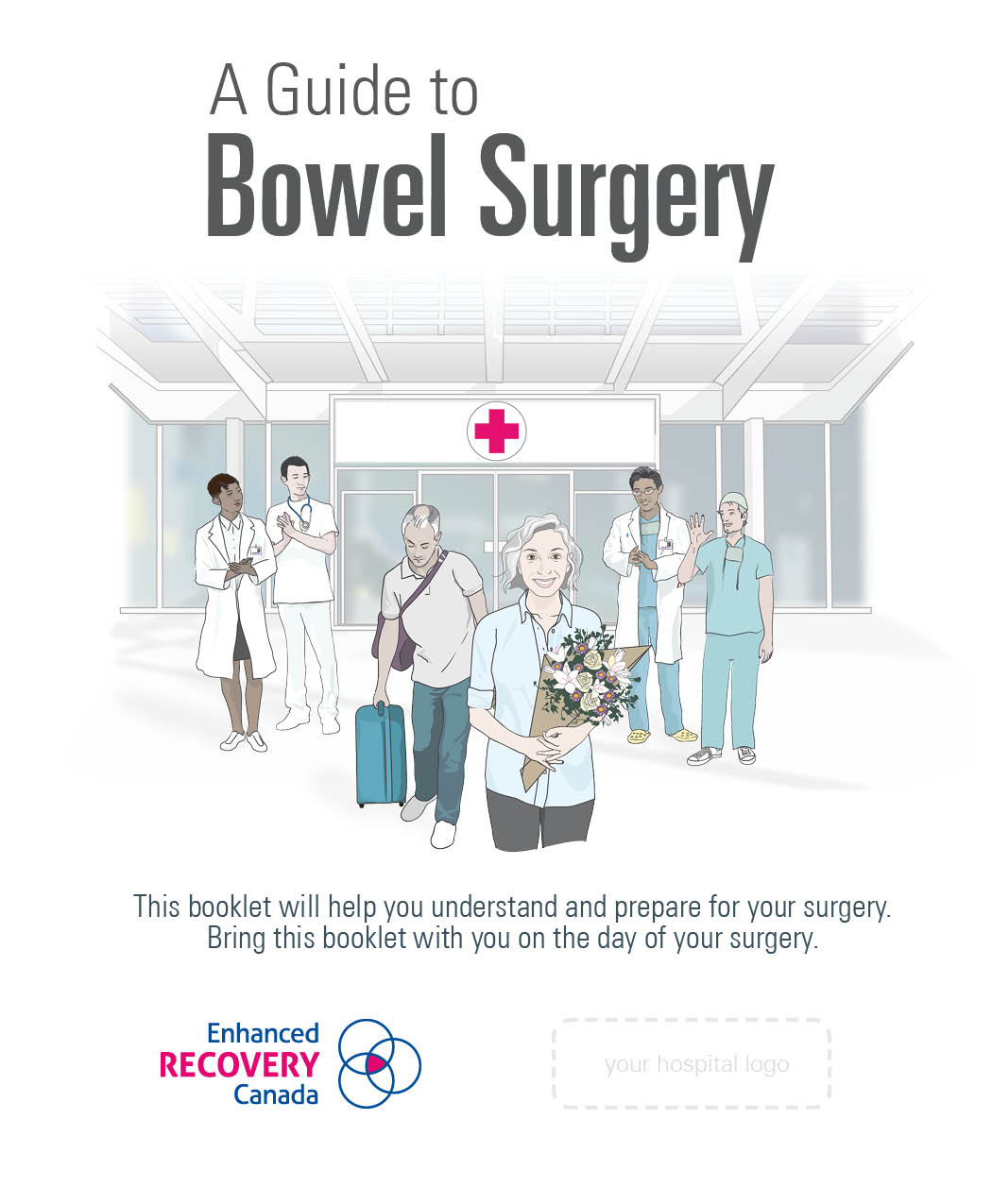 Bowel surgery booklet cover